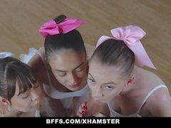 BFFS - professor Falso fode Bailarinas adolescentes