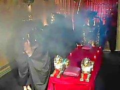 Egypte orgie in kostuums