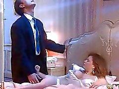 Bosss esposa está durante el sueño profundo