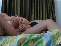 Preciosa niña morena francesa jodida en POV
