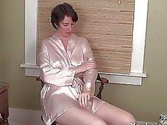 Behaard dildo neuken
