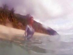 Расхититель гробниц Лара Крофт подводный - Bianca Beauchamp [ HD720 ]