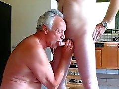старика сосать