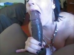 Sí Milf perra, chupar este Dick negro