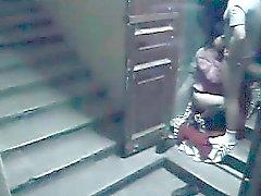 cam de segurança escada catpures esposa porra