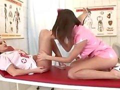 Eve Angel y Eufrat son enfermeras calientes de