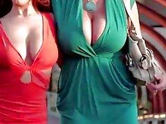PORNFIDELITY Angela Valkoisia ja Kelly Madison Get suihkussa Neljäs Cumshots !
