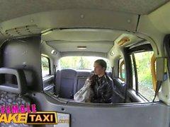 Female Fake Taxi Lesbian sex toys masturbation