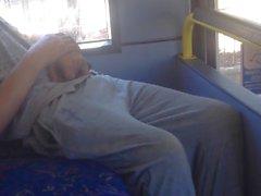 Str8 blanc poubelle Boner aperçu sur le bus