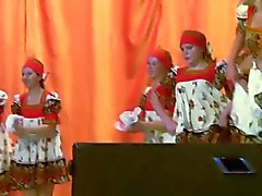 Russian Folk Dance. Hot and Horny