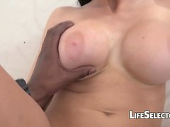 Aletta Ocean Fucks et Sucks Big Black Cock POV