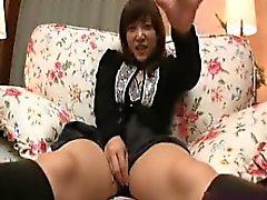 amateur asiatique doigté