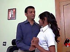 School Girl Pareja con el Maestro - nandu4u /