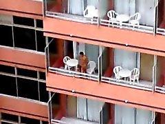 de Balcon del hotel de 1
