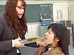Schoolgirl In Uniform Forced To Drink Piss By Her Teacher Retching In The Classroom