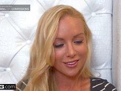 BANG Confessioni Kayden Kross sexy lap dance porta a culo cazzo