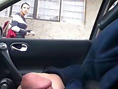 Knipperen in de auto 12