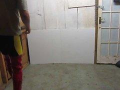 Posing in meinem 9-Zoll-Stöckel Stöckelschuhe