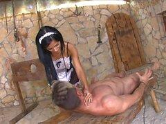 Black Angelika is a Sexy Maid