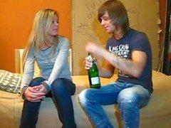 Champagne & Cum