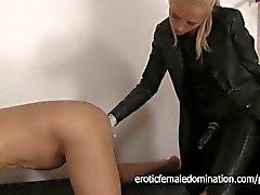 Mature Slave Fingered By Mistress Sarah