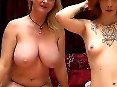 Hermoso Lesbians On Cámara en vivo de