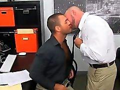 Twink Im Sexual Geiler Büro Arsch Bangen