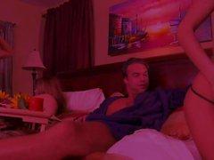 Jesse Andrews ve Alektra Blue grup seks yapmak