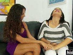 Jewels Jade und Danica Dillon suck dick
