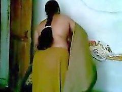Hett Indiska Desi Anty med sex med sin barn Pojkvän