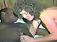 Chris met haar zwarte vriend