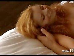 милашка блондинка минет