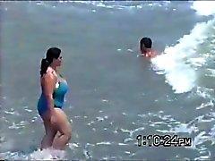 tetazas en la playa (strand )