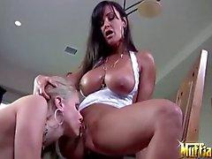 Naiset Pornstars Haluatko Julian Ann sekä Lisan Ann