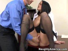 Carmella Bing earns her paycheck
