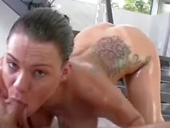 Oiled Thick Ass