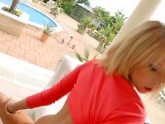 Karina Grand in gonzo creampie sex scene di All Intern