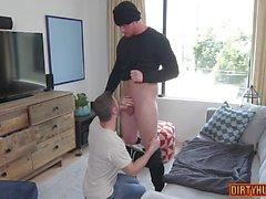 Muskel Homosexuell Oralsex und Cumshot Video Feature 2