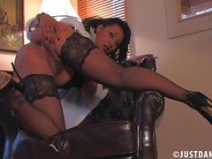 milf danica collins strip tease and joi