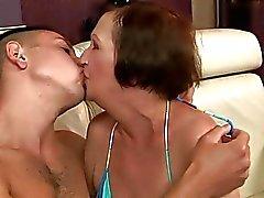 grannies beijando amadurece mamãe