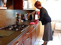La mariquita Ama de casa que Lavar los platos
