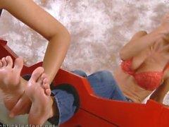 pieds Ticklish par Jana Cova