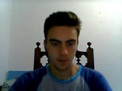 Portuguese Cute Boy With Rock Hard Cock,Bubble Ass On Cam