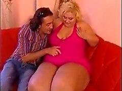 Fat blondie fucked - german deutsch