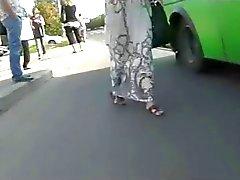 Sottane alzate Spia Webcam Nella autobus BVR
