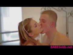 Busty Blonde mierda caliente de Katerina Hartlova