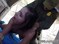 Bree olson cop Pale Cutie Banging an der Grenze