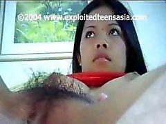 Cute young filippina Amatore adolescente Maria fa scopare nel il suo cespuglio hairy
