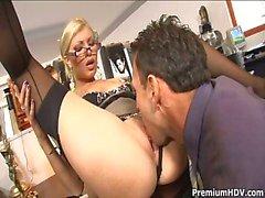 Office slet Donna Bell Gets Ramm ...