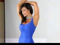 Blue giydir Denise Milani in - olmayan çıplak